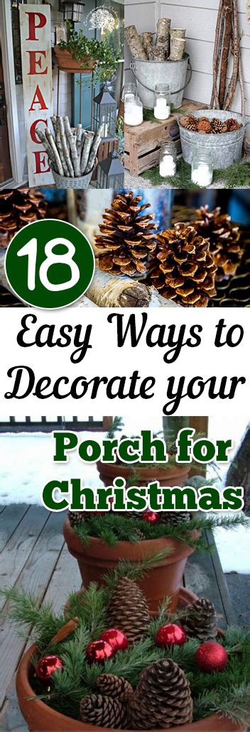 18 easy ways to decorate your porch for christmas page 4