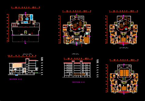 autocad section hotel dwg section for autocad designs cad