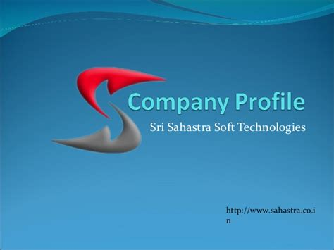 information technology company profile template company profile of sahastra soft technologies