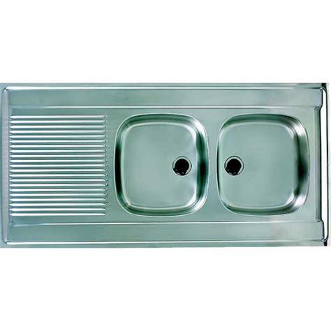 Evier 120x60 by Supersanit Evier Inox 120x60 2 Cu R
