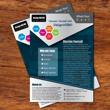 Free Flyer Template Generator Website
