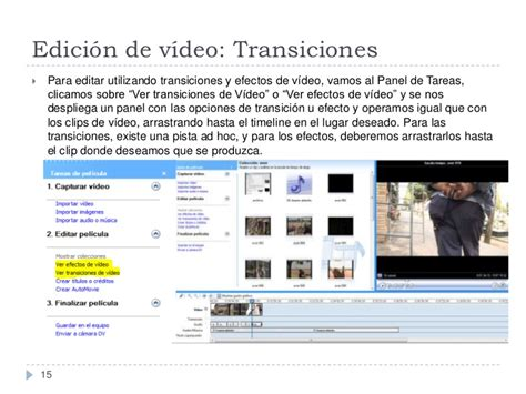 tutorial de windows movie maker tutorial de edici 243 n de v 237 deo con windows movie maker