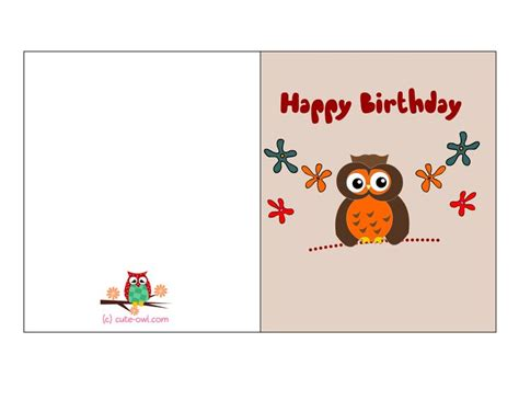 printable birthday card child birthday cards to print for free this is another