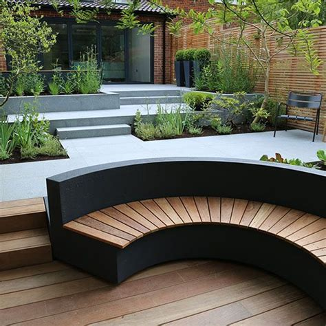 outdoor round bench seating best 25 curved outdoor benches ideas on pinterest garden