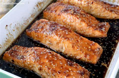 sesame garlic baked salmon recipe