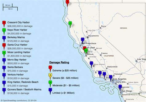 map of northern california coast map of northern california coastline images