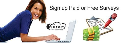 Sign Up For Paid Surveys - online surveys whether to sign up paid or free surveys