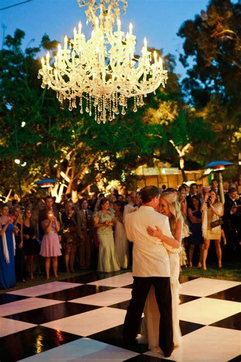 outdoor wedding decorations chandeliers weddingelation