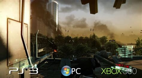 crysis 2 console crysis 2 graphics comparison