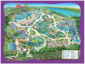 park map aquatica orlando