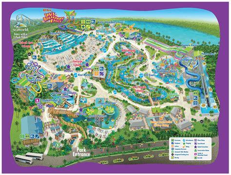 park orlando park map aquatica orlando