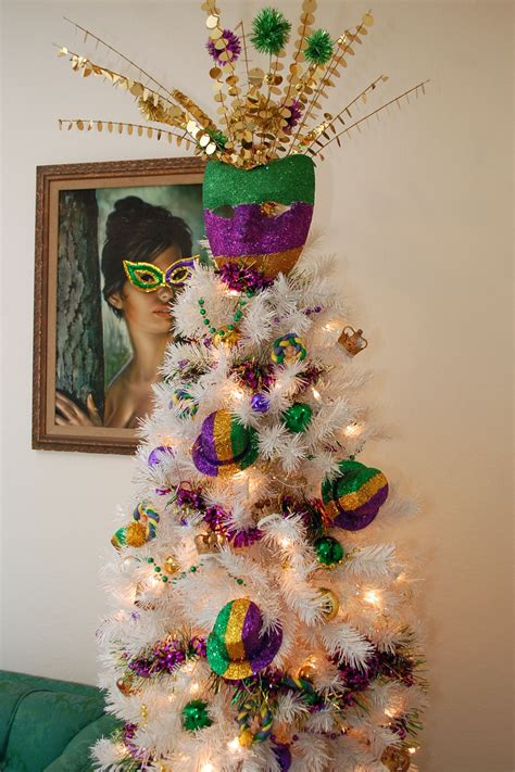 next tree decorations how to decorate a table top mardi gras tree