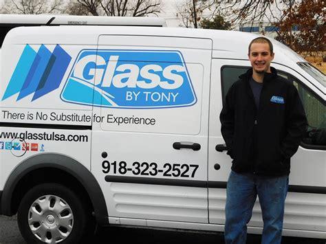 Auto Glass Technician by Mobile Auto Glass Repair In Tulsa Glass By Tony