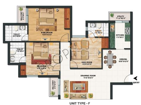100 paras homes floor plans paras seasons sector