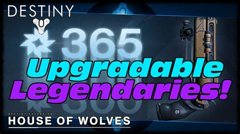 house of wolves expansion destiny upgradable legendary weapons in house of wolves