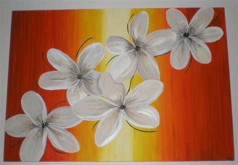 fiori da dipingere su tela tela dipinta con fiori per la casa e per te produzioni
