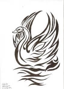 tribal swan tattoo designs tribal swan tattoos www imgkid the image kid has it