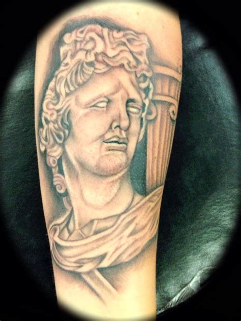 greek god tattoo 17 beste idee 235 n god op