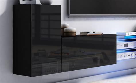 Lowboard Tv Design by Kaufexpert Tv Lowboard Galaxy Grau Hochglanz Wei 223 Mdf