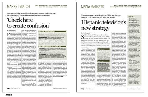 magazine layout anatomy magazine redesign anatomy of a news page makeover