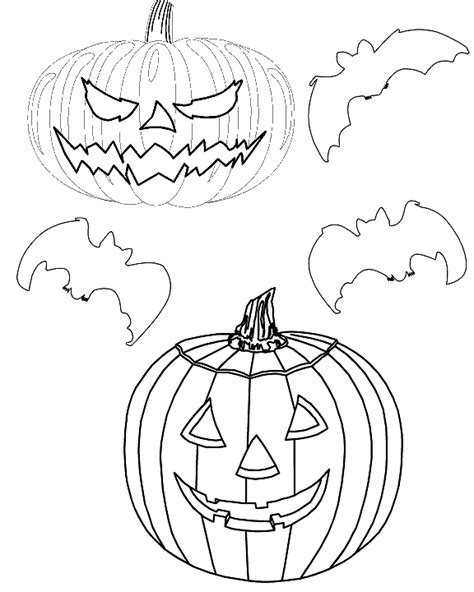 bats and pumpkins coloring pages free worksheets 187 pumpkin cut and paste free math
