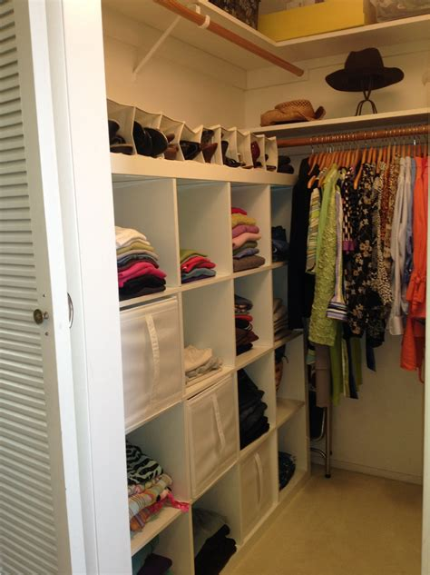 closet organization ideas for small walk in closets for