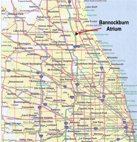 chicago map of suburbs northern suburbs of chicago map
