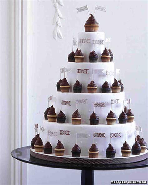Wedding Cakes With Photos On Them by Wedding Cupcake Ideas Martha Stewart Weddings