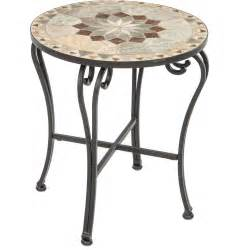 Patio End Table by Alfresco Home Notre Dame Mosaic Side Table Ultimate Patio