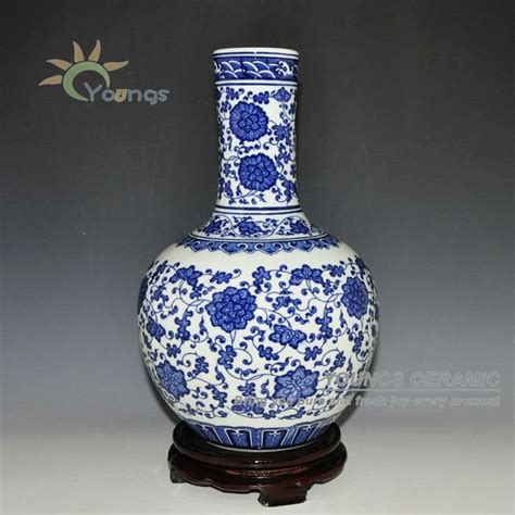 Antique Style Blue And White Vases In Vases From Home Garden On Aliexpress Alibaba Antique Blue And White Ceramic Flower Vases Made In Jingdezhen View Ceramic Vase Youngs