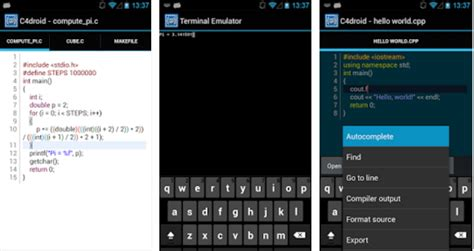 best c compiler c compiler for android run c c programs on android