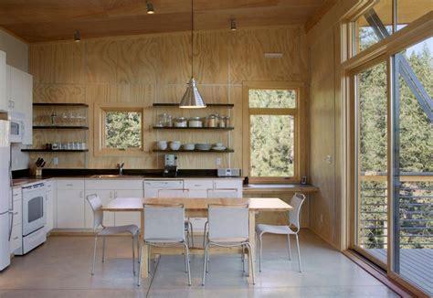 small log home interiors 9 modern cabin kitchens gallery kitchen magazine