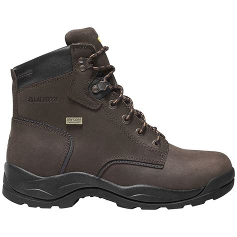lacrosse quad comfort men s lacrosse 6 quot quad comfort 4x6 boots dark brown