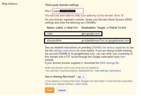 cara membuat artikel untuk web tutorial cara membuat custom domain blogger untuk
