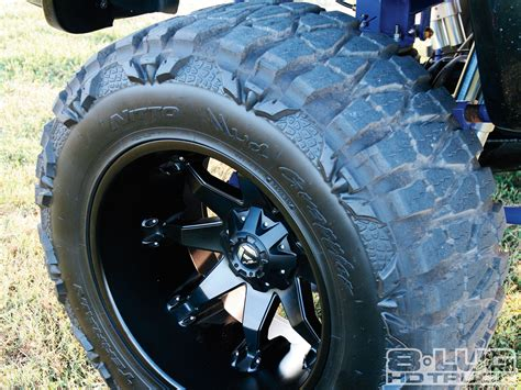 dodge ram mud tires 2008 dodge ram 2500 exactly right nitto mud grappler tire