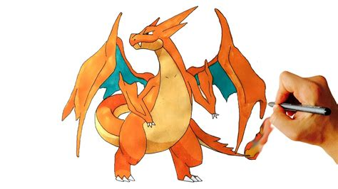 Charizard Y Drawing by Mega Charizard Drawing At Getdrawings Free For