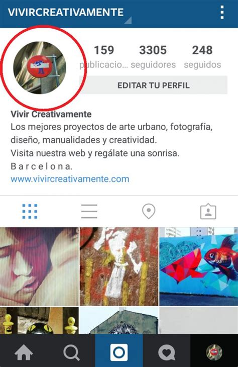 imagenes para perfil instagram c 243 mo cambiar mi foto de perfil de instagram 5 pasos