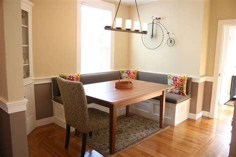 banquette seating in kitchen aifaresidency