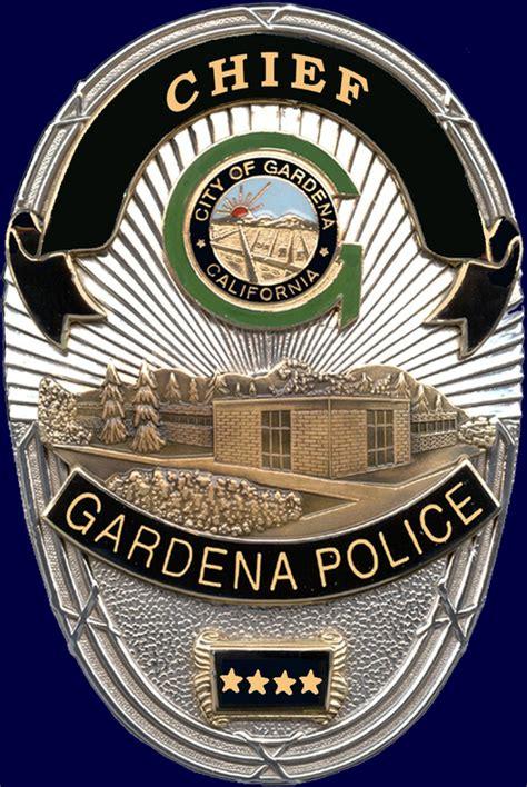 Gardena Ca Chief Of Gardena Dept Gardenapolice