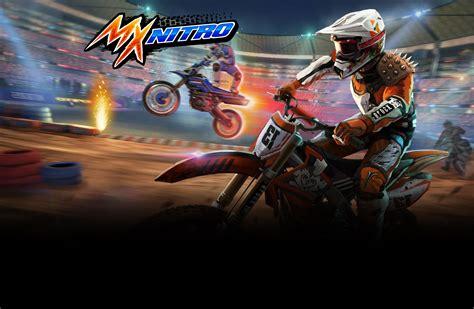 Miniclip Motorrad Spiele by Motocross Nitro Rennspiele Spiele