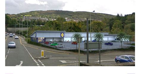 pontypridd lidl store  green light  successful appeal  welsh government wales