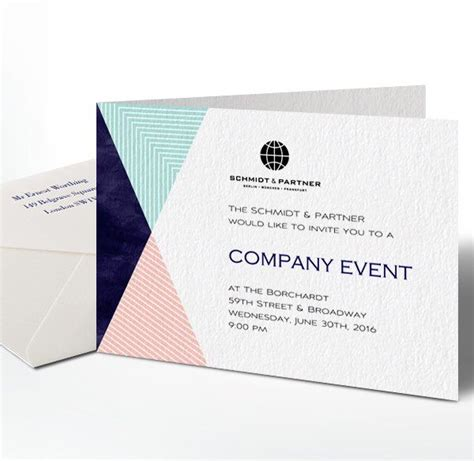 Sle Layout Of Invitation | sle business invitation to an event 28 images formal