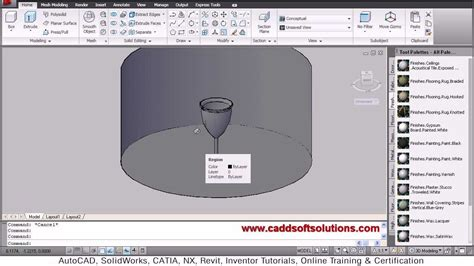solidworks tutorial glasses autocad 3d glass tutorial autocad 2010 apply material