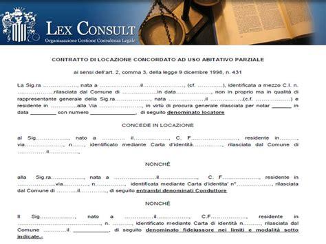 contratto di locazione ad uso ufficio consult srl
