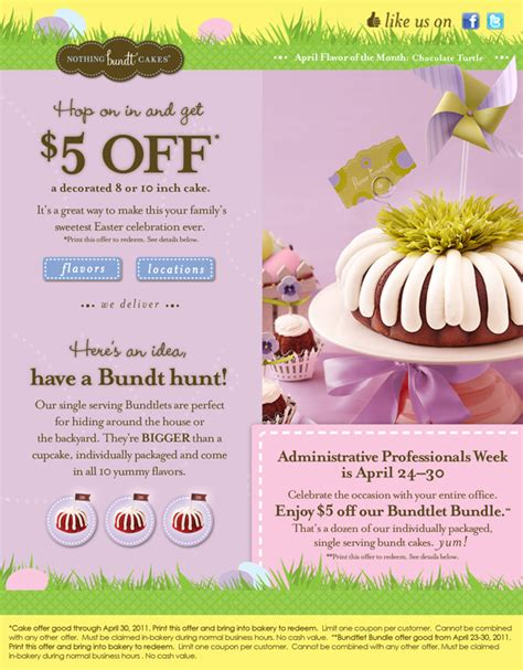 nothing bundt cakes coupons printable 2017 2018 best