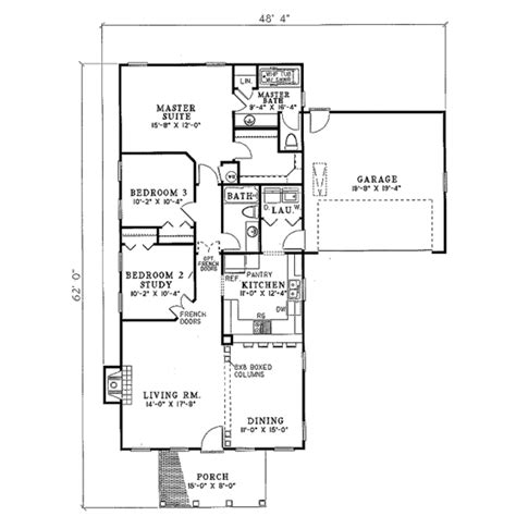 southern style floor plans farmhouse style house plan 3 beds 2 baths 1404 sq ft
