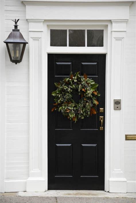 Exterior Door Wreaths 70 Unique And Wreaths Saturday Inspiration Ideas Black Doors