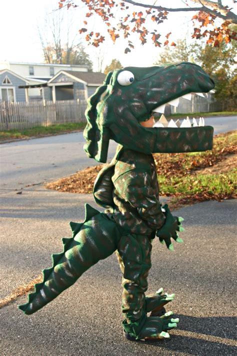 Handmade Dinosaur Costume - costume how to make a dinosaur cos