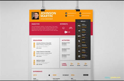 layout design psd psd resume cover letter template for designers 3 color
