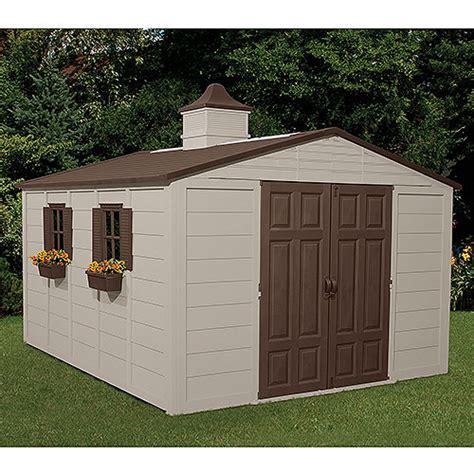 backyard storage belgrade mt suncast 10 x 12 5 outdoor storage building shed